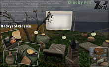 :CP: & PILOT - Backyard Cinema SET (PG)