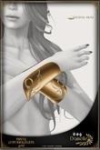 DANIELLE Freya Cuff Bracelets Gold