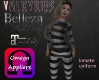 Valkyries omega apliers Inmate uniform