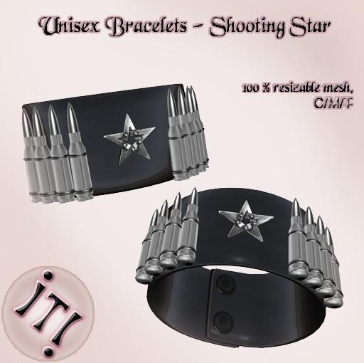 !IT! - Unisex Bracelets Shooting Star