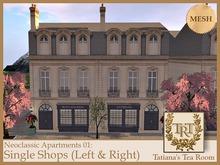 TTR-Neoclassic Apartment 01 Single Shops-Carton 150501