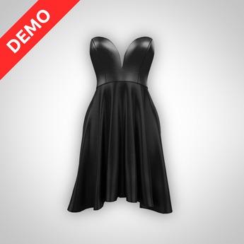 ANOIRCRE Sauter Dress DEMO (Mesh)