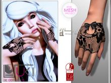 ::: Suki ::: Cherrie Gloves Black