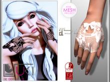 ::: Suki ::: Cherrie Gloves White