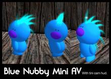 1L: !!! promo item!!! - Blue Nubby Mini Avatar (rae)