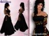 Stressless - Elegant Evening mesh dress - Black