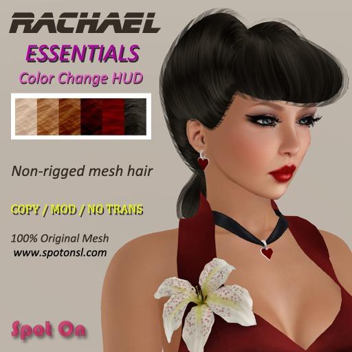 Spot On Hair - Rachael V2 - Essential Colors