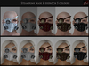 ! [NW] Steampunk mask & eyepatch Fat Pack
