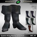 AB Goblin King Boots with Color HUD