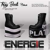 ..:Energie::.. Trixy Boots Black Bag