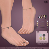*MUKA* Ari Ankle Chain
