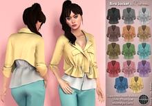 Mutresse . Bira Jacket - 14 Colors for Slink/Maitreya/Standard Sizes