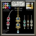 Beloved Jewelry : Kiri Bindi (Texture Change) Choice of Silver, Gold, 12 Gem Choices. Amethyst. For Forehead.