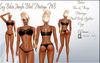 LSR - Sexy Bikini Jennifer Black Maitreya MB