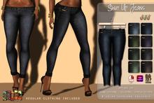 [ S H O C K ] Shut Up Jeans - Appliers (Omega - Slink]