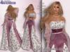 Stressless - Floral Spring mesh dress