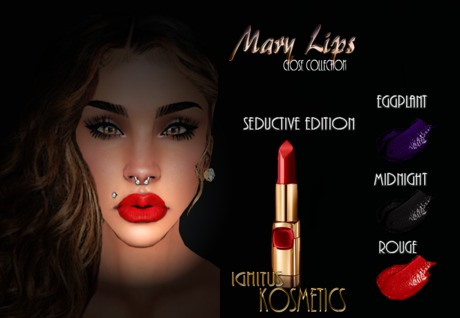 Ignitus K. - Mary CloseLips -Seductive Edition Pack