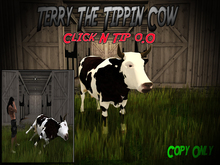 Terry The Tipping Cow