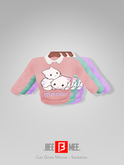 .BEEMEE. Cat Goes Meow - Sweater