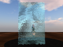 Tintable Animated Water Wall (variable speed fullperm script)