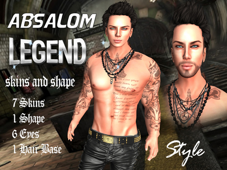Style - Absalom Skins Shape and Eyes - Bakes on Mesh