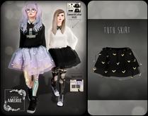 AMERIE - Tutu Skirt(BLACK)