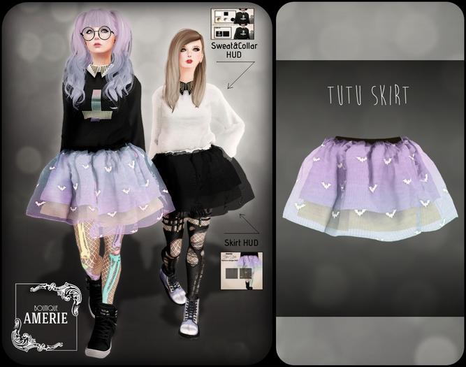 AMERIE - Tutu Skirt(LAVENDER)