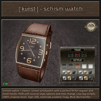 [ kunst ] - Schism watch / classic