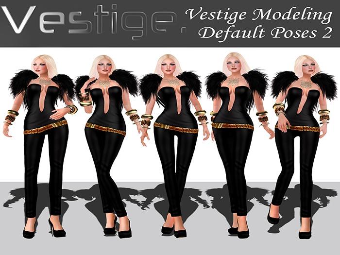 Vestige - Modeling Default Poses 2