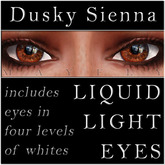 Mayfly - Liquid Light Eyes (Dusky Sienna)