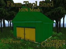 Farm Tool Shed Mesh Full Perm
