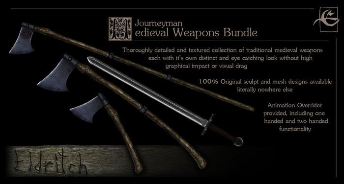 Medieval Arms Fundamentals - Journeyman Bundle