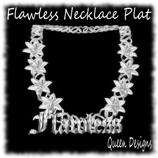 Flawless Necklace Plat