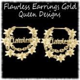 Flawless Earrings Gold