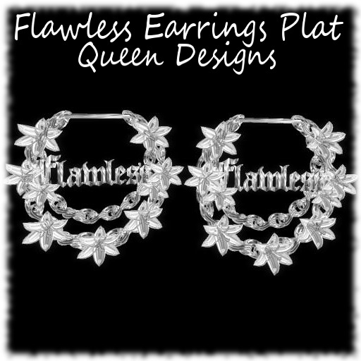 Flawless Earrings Plat