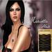 .: LIKE DESIGN :. Marietta Hair Brown and Black