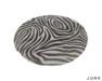 junk. round rug. zebra.