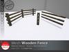 [DD] - FULL PERM  Wood Fence Kit