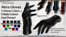 :: Miss Canning :: [ Akira Gloves ] 5 Gloves+9Nails