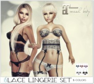 *IS* Lace Lingerie Set 5 Colors Maitreya