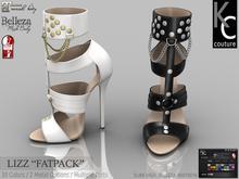 .:KC:. LIZZ HEELS for Slink High, Maitreya & Belleza / FATPACK