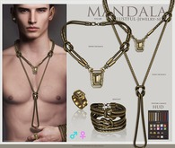[MANDALA]LUSTFUL-Jewelry-set