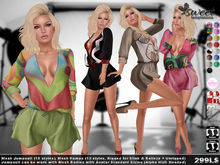Sweet  :: Vanity Outfit (15 styles for the jumpsuit and 13 styles for the pumps HUD Driven)