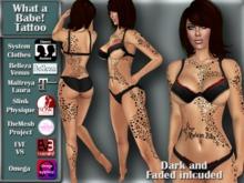 [TKS] Tattoo - What a Babe!