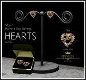 Mothers Day Jewelry - Mom Filigree Earrings