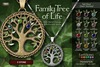 EarthStones Family Tree Of Life Necklace - 3 Stone
