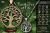 EarthStones Family Tree Of Life Necklace - 4 Stone