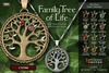 EarthStones Family Tree Of Life Necklace - 2 Stone