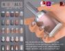 Slink nails neutralssilver