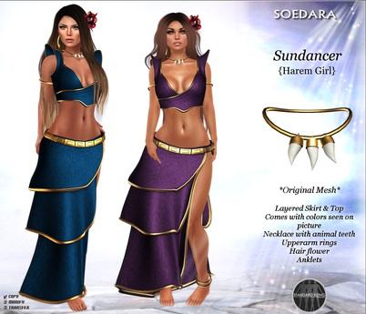 ~Soedara~ Sundancer {Harem Girl}